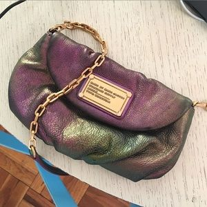 Marc by Marc Jacobs Oil Slick Mini Leather Bag